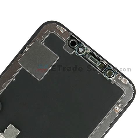 Lcd Iphone X apple iphone x lcd screen and digitizer assembly with frame black grade s etrade supply