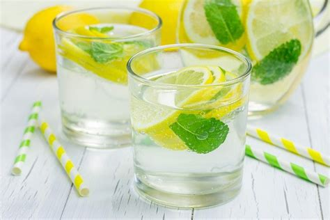 Lemon Detox Recipe 2 Litres by Morning Lemon Mint Detox Water