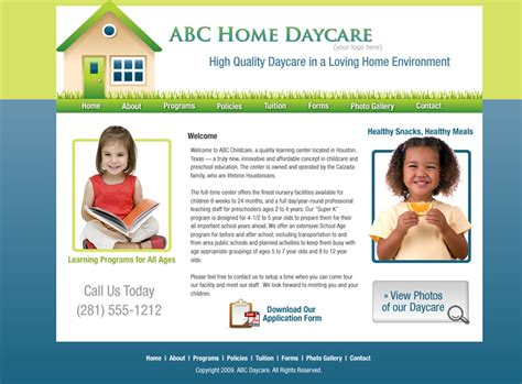 Daycare Website Templates Childcare Website Templates Cheap Day Care Website Designs Cheap Daycare Website Templates Free