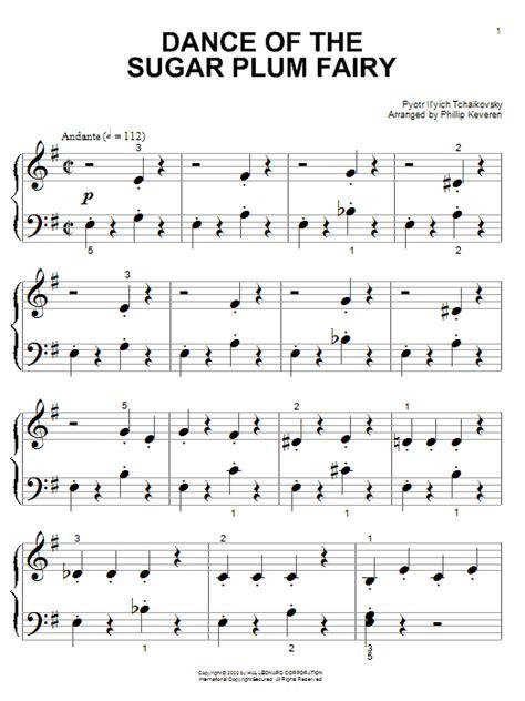 dance of the sugar plum fairies dance of the sugar plum fairy sheet music direct