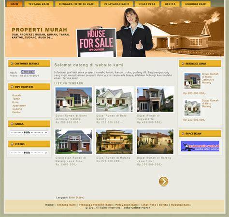 layout iklan template iklan property by request toso kerasak