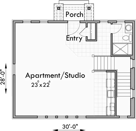 studio house plans carriage house plans apartment garage plans studio garage plans
