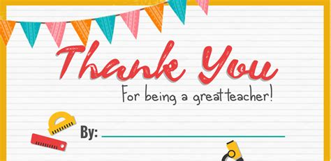 printable thank you cards for teachers thank you teacher a free printable stay at home mum