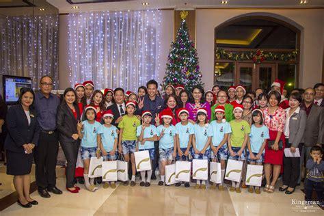 tree lighting ceremony speech chatrium hotel royal lake yangon celebrates its tree lighting ceremony donation and