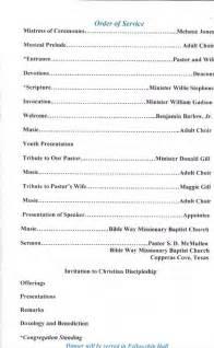 pastor appreciation program template best photos of appreciation program outline pastor