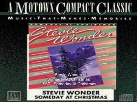 stevie wonder someday at christmas lyrics
