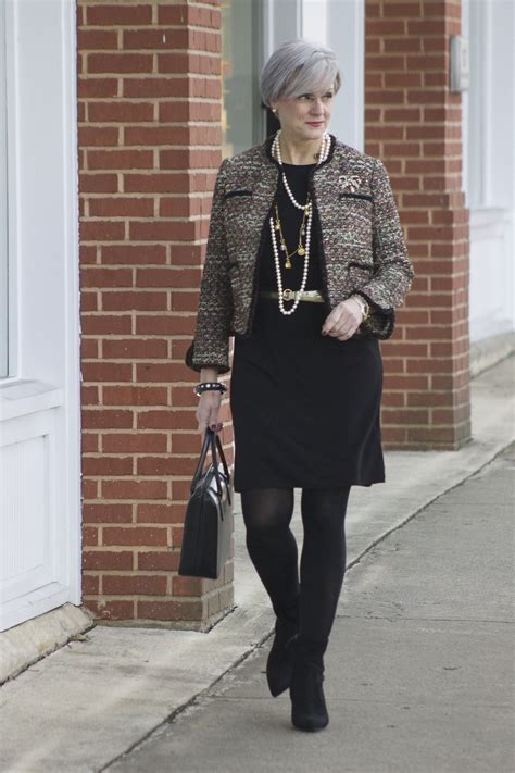 fashion at age 60 tweed tuesday style at a certain age