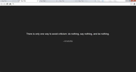 chrome quotes how to display random quotes in new tab in chrome tip