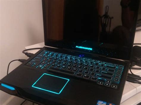 Laptop Alienware M14xi7 alienware m14x r2 gaming laptop i7 8gb 1tb for