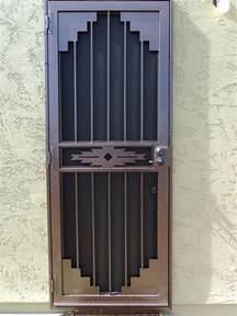 Front Door Security Gates Wrought Iron Security Gate Front Door Nucleus Home