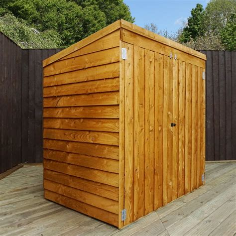 8 X 3 Shed 4 8 X 3 Value Pent Mower Shed