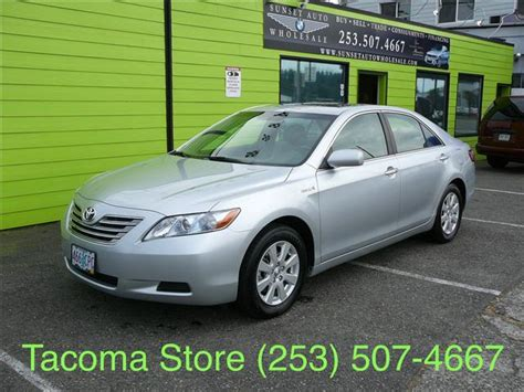 Toyota Camry 2007 Mpg 2007 Toyota Camry Mileage Used Cars For Sale