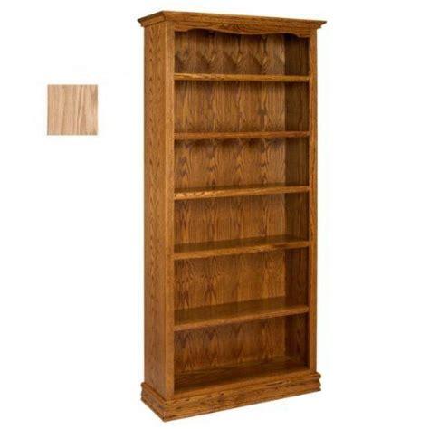bookcase 36 x 84 americana oak bookcase 36 x 84 unfinished oak 84 quot h x 36