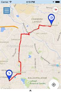 Google Maps Draw Route by Xamarin Ios Draw Route Between Two Geo Location In Google