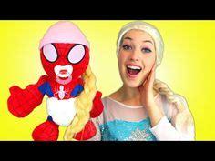 film frozen dan spiderman pink spidergirl pregnant spiderman frozen anna in real