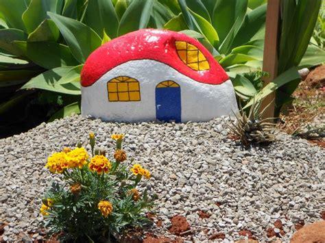 decoração de jardim pedras pintadas 17 mejores ideas sobre piedras pintadas para jardin en