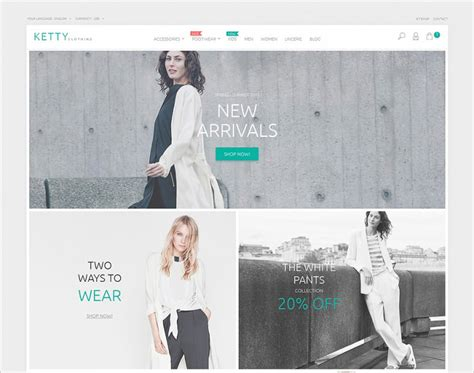 10 Ecommerce Website Templates Themes Free Premium Free Premium Templates Fashion Store Website Templates