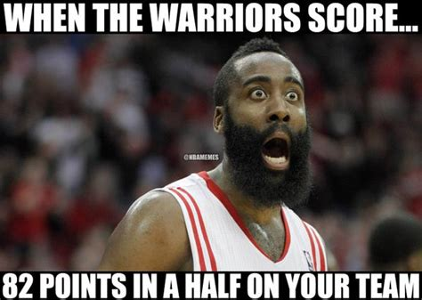 Warriors Memes - the houston rockets right now after the golden state