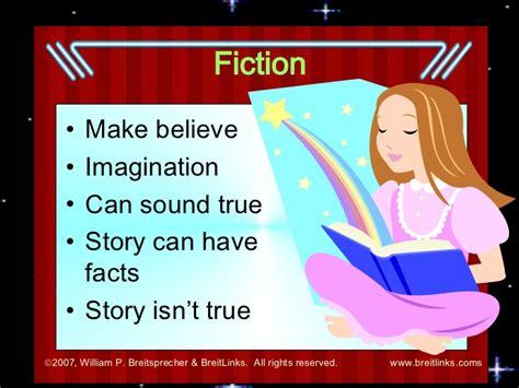 what does fiction fiction versus nonfiction