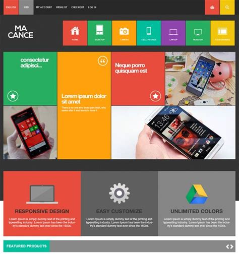 magento bootstrap themes free 22 best 22 of the best free premium bootstrap magento