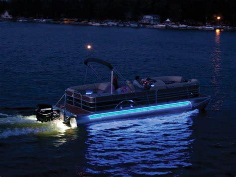 underwater lights on a pontoon boat sylvan pontoon optional underwater and babbito lighting