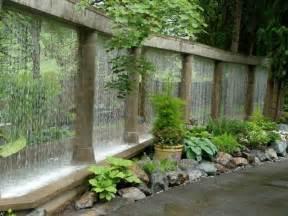 cascade de jardin fontaine et bassin 80 oasis modernes