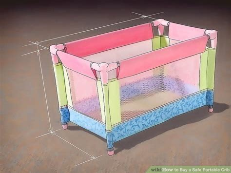 how to buy a safe portable crib with pictures wikihow