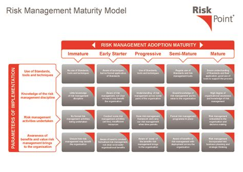 commercial risk model risk management maturity model organization pinterest