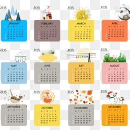 2018 calendar png images vectors and psd files free