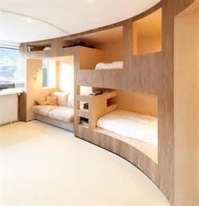 cool modern furniture 26 cool and functional built in bunk beds for digsdigs