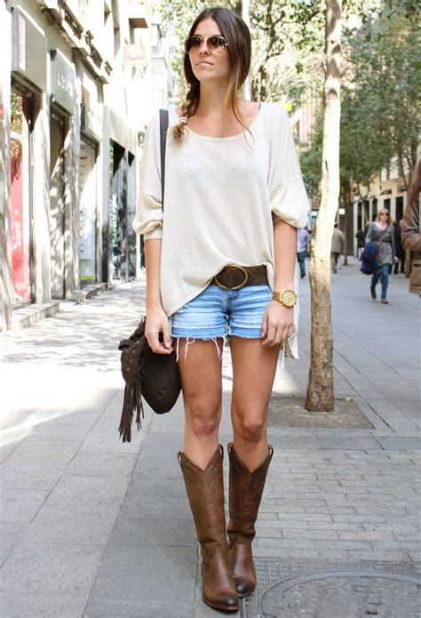 short white dresses on pinterest cowboy boot outfits 5 ways to wear western style boots glam radar