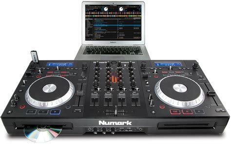 usb decks numark mixdeck complete dj system with 4 channel