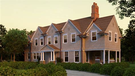 seal harbor shingle style home plans by david neff