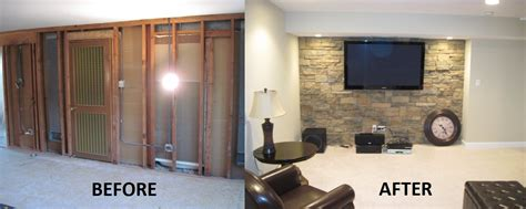 before and after basement basement remodeling dienberg and contractors 630 964 3102