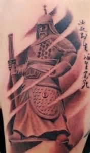japanese warrior tattoo design tattoobite com