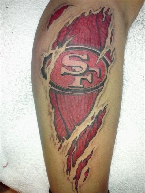 49ers tattoos designs 84 best images about 49er tattoos on fan
