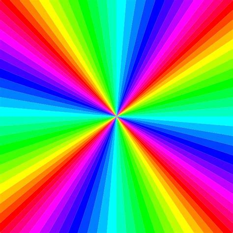 color image online kaleidoscope of colors optical illusion picture