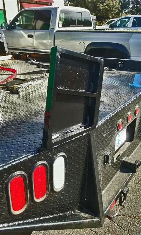 custom truck tool boxes for flatbeds custom sxs flatbed extenders etw empire truck works