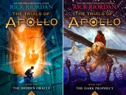 The Trial Of Apollo 1 The Oracle Rick Riordan trials of apollo 2 book series