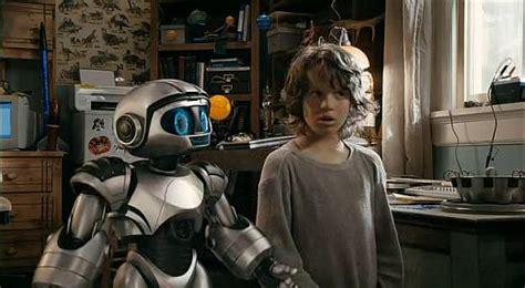 film with robot boy robosapien hag and con talk to cody the robot