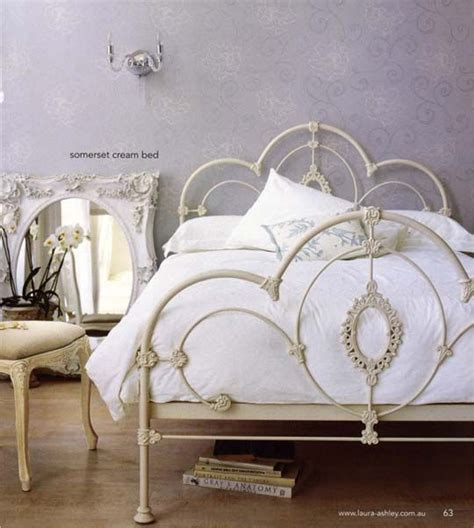 Antique White Bed Frame Iron Bed Frames On Pinterest