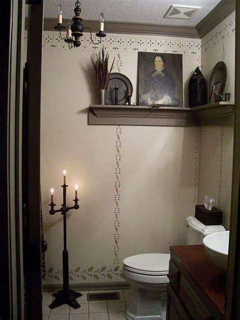 primitive bathroom decor ideas 25 best ideas about primitive bathrooms on pinterest