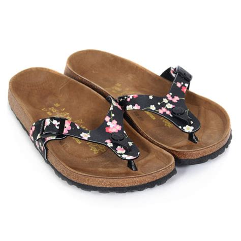 flowered birkenstock sandals birkenstock s papillio turin suki flower birko flor