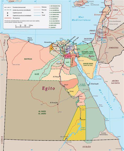 Galerry mapa de egipto
