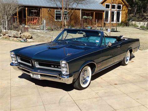 pontiac gto 1965 pontiac gto for sale classiccars cc 947726