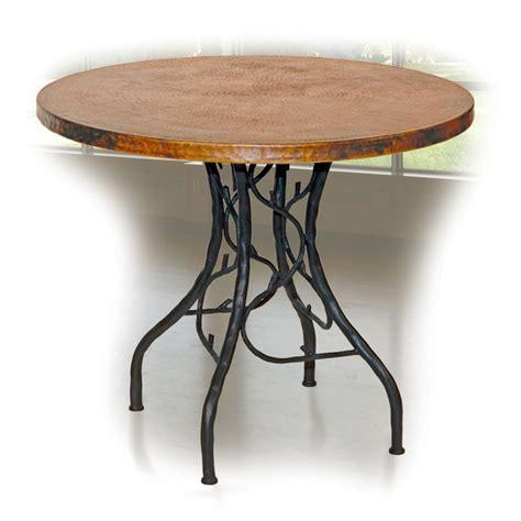 Wrought Iron Bistro Table Twi 20 152p 3 Jpg