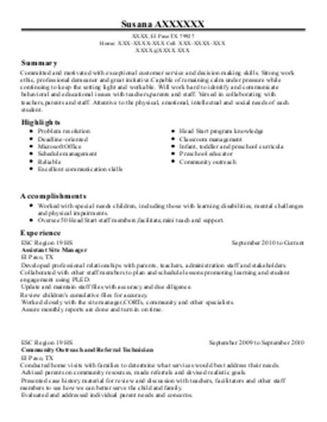 Ministry Director Sle Resume by Children S Ministry Resumes 28 Images Director Of Children S Ministry Resume Exle Bethlehem
