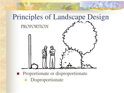 ppt principles of landscape design powerpoint presentation id 4201520