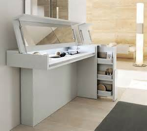 Makeup Vanity With Lift Up Mirror Top 10 Space Saving Dressing Table Design Ideas Nestopia