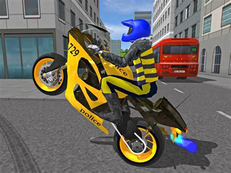 polis motosikleti oyunu motor oyunlari